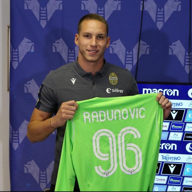 Radunovic's Match-Issued Shirt, Hellas Verona-Atalanta 2020