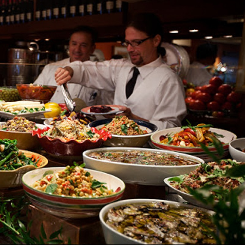 Catered Party by Trattoria Dell'Arte with Entertainment by Pianist Stephen Sorokoff in New York City