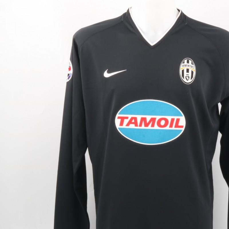 Nedved Match issued Shirt, Serie B 2006/07