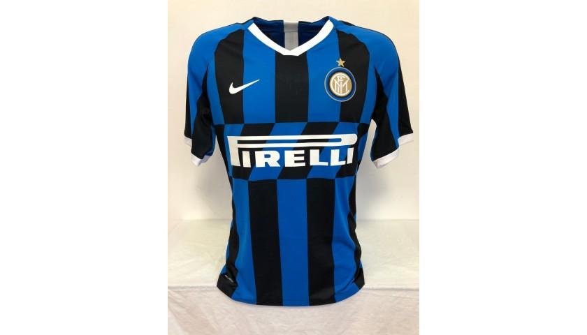 Lautaro's Authentic Inter Signed Shirt, 2019/20