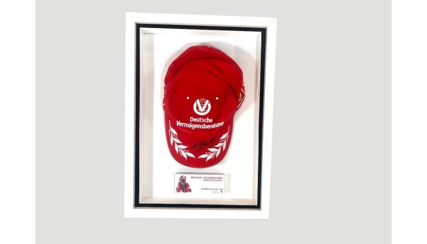 Michael Schumacher Signed Cap
