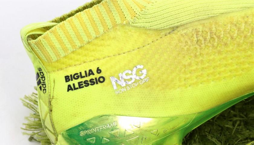 Biglia's Adidas Match-Worn Cleats, Serie A 2016/17