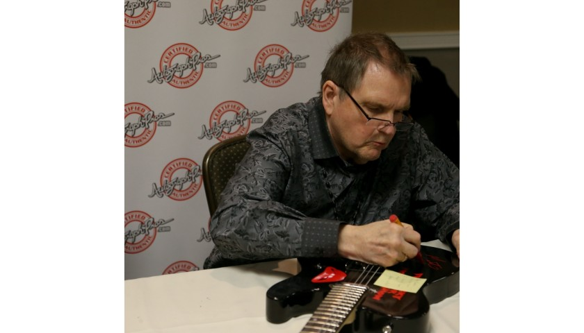 "Meatloaf Hand Signed ""Bat Out of Hell"" Guitar"