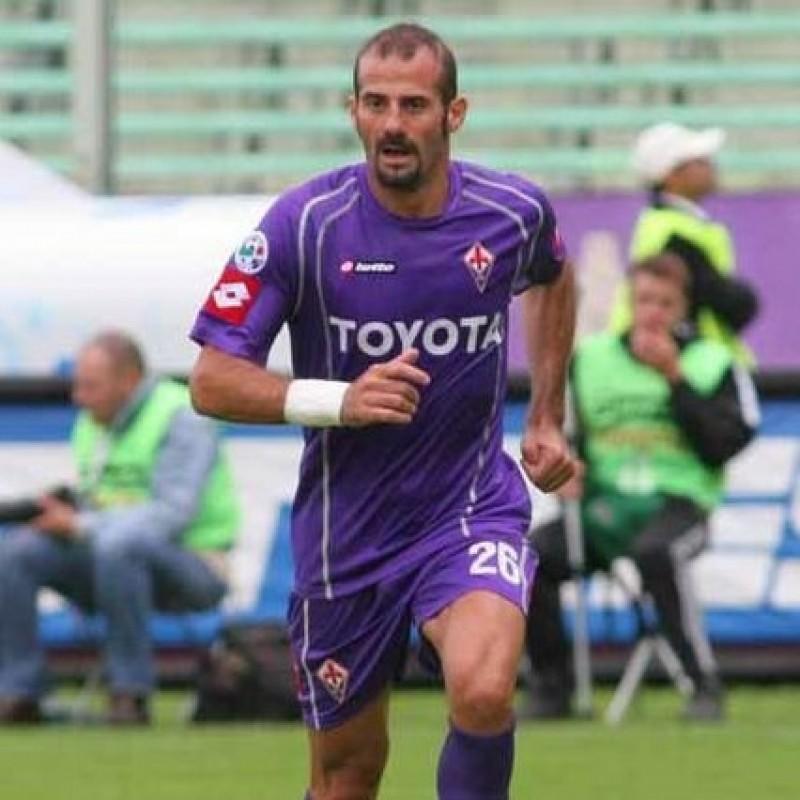 Pancaro's Match Shirt, Fiorentina-Milan 2005