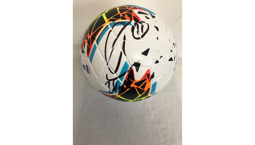 Match-Ball Serie A 2019/20 - Signed by Ibrahimovic
