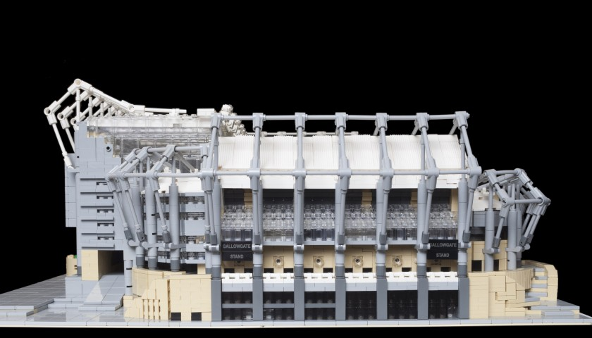 Replica of Newcastle Stadium St. James Park