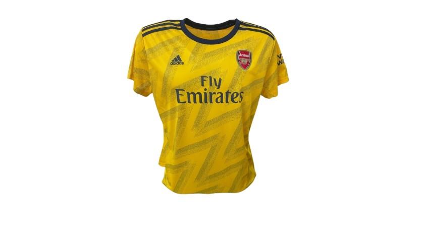 Aubameyang's Official Arsenal Signed Shirt, 2019/20