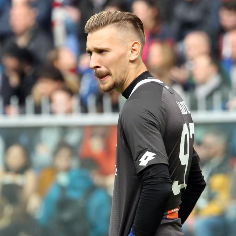 Shirt Worn by Radu for the Genoa-Juventus Match