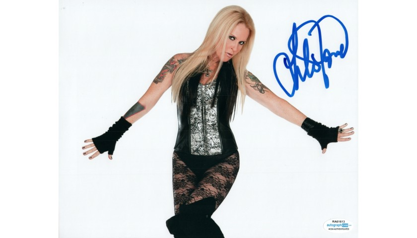 Lita Ford Hand Signed Photograph
