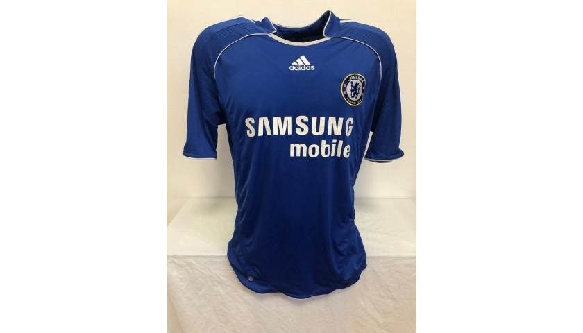 Shevchenko's Chelsea Signed Official Shirt, 2006/07
