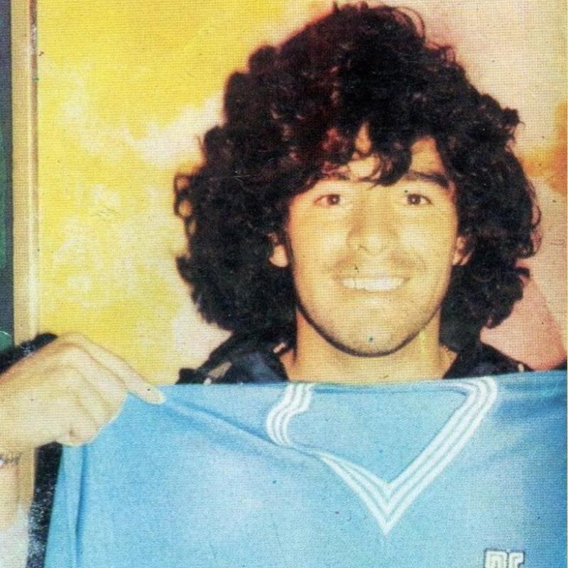 Maradona's Official Napoli Signed Shirt, 1983/84 Season