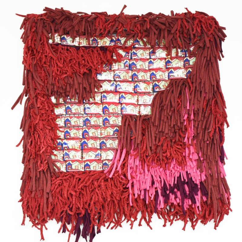 """""""FUOCO"""" Tapestry by AdalgisArt"""