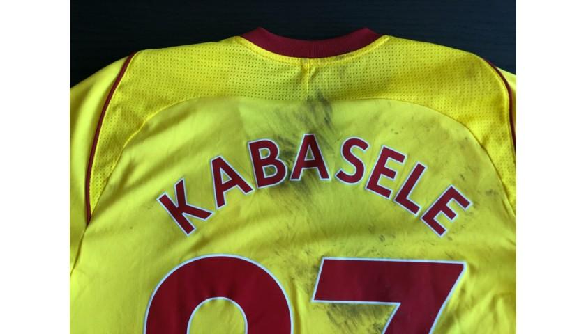 Kabasele Worn and Unwashed Shirt, Watford vs. Crystal Palace 2017