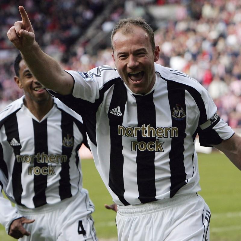Shearer's Official Newcastle Signed Shirt, 2009/10