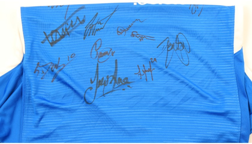 Peterborough United Official Poppy Shirt Signed by the Team