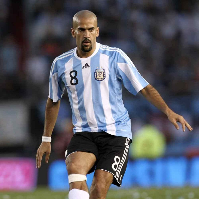 Argentina Retro Shirt - Signed by Veron