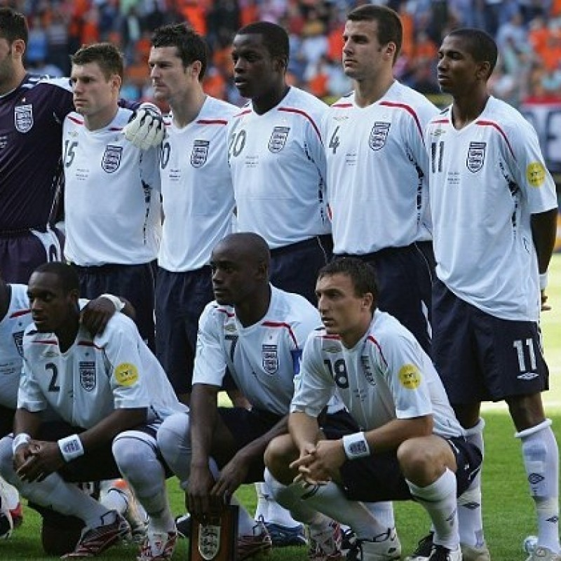 England Under 18 Match Shirt, 2007