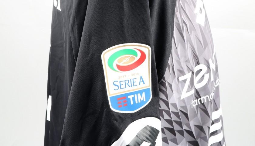 Lamanna's UNWASHED Special Genoa-Sampdoria Bench-Worn Shirt