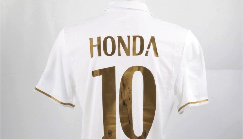 Honda Worn Shirt, Cagliari-Milan - Special UNICEF Patch