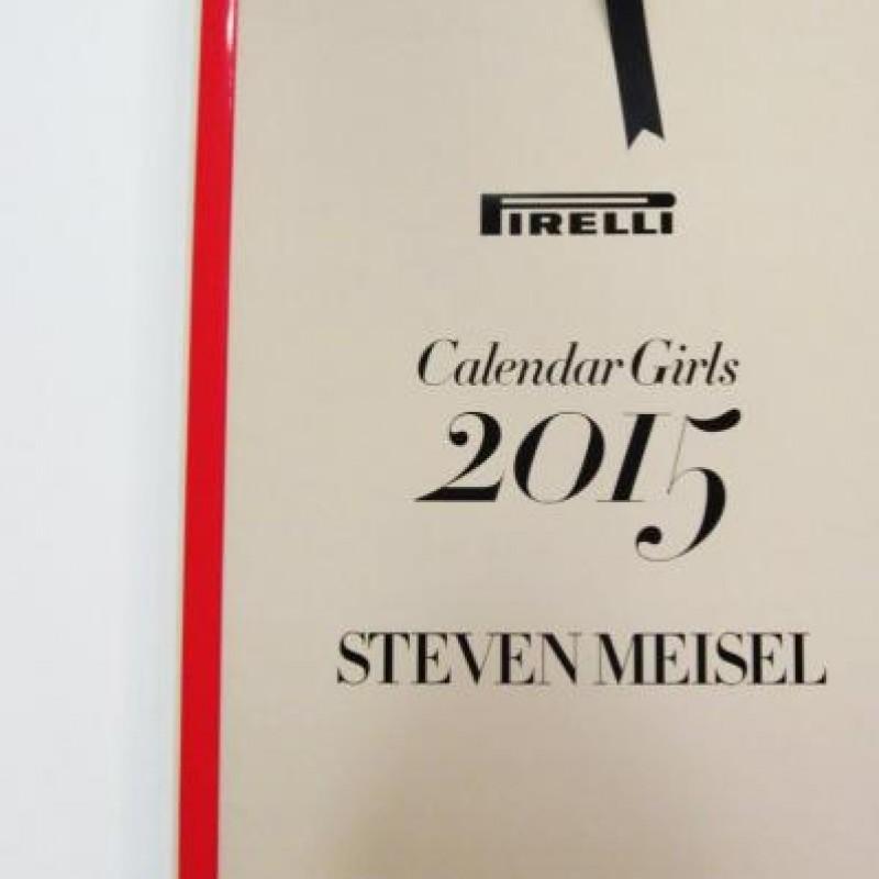 """The Cal"" Pirelli 2015 Calendar Girls with personalized dedication by Alberto Pirelli"