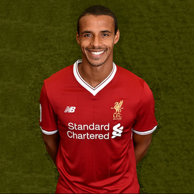 Joel Matip's Worn and Signed Limited Edition 'Seeing is Believing' 17/18 Liverpool FC Shirt