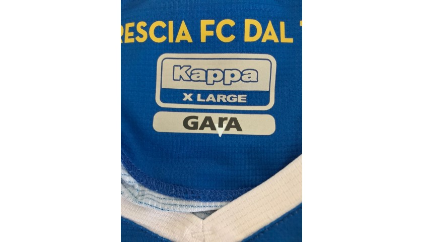 Balotelli's Brescia Signed Match Shirt, 2019/20