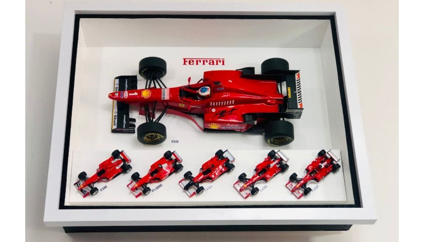 Michael Schumacher Ferrari Car Collection