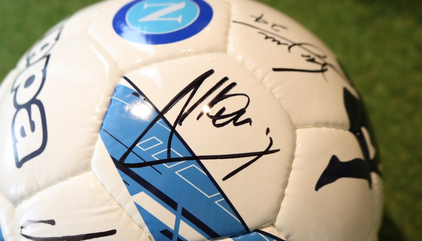 Official Napoli Football, 2019/20 - Signed by the Squad
