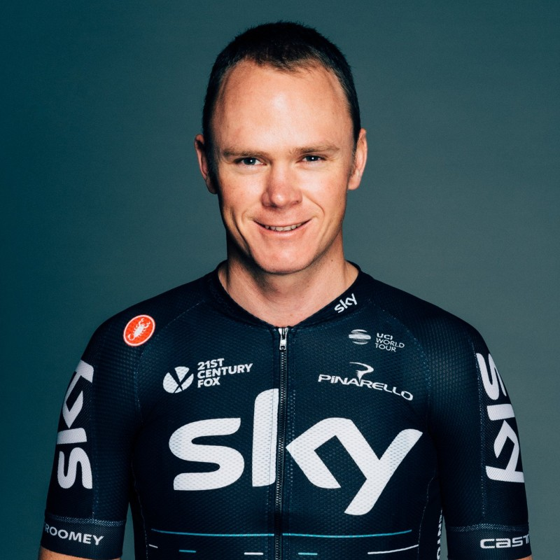 Mitical Cycling Helmet- Signed by Chris Froome