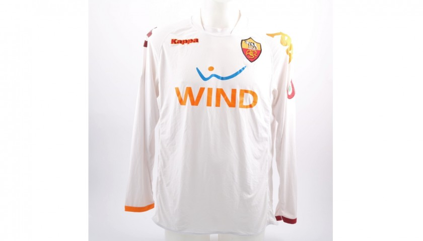 Totti's Match-Issued Roma Shirt, 2007/08 Serie A