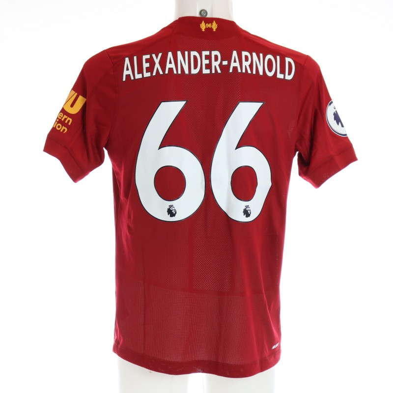 Alexander-Arnold's Issued and Signed Limited Edition 19/20 Liverpool FC Shirt