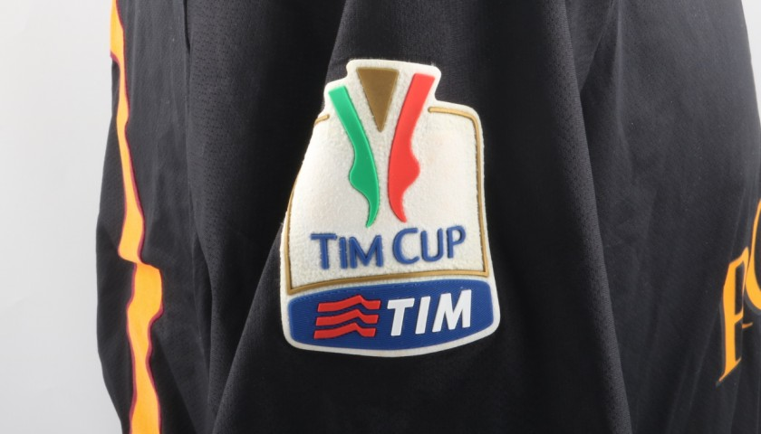 Totti's Match Issued/Worn Shirt, Tim Cup 2013/14