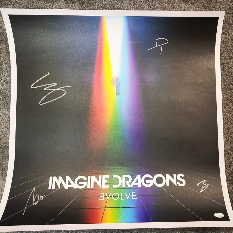 Imagine Dragons Signed Lithograph