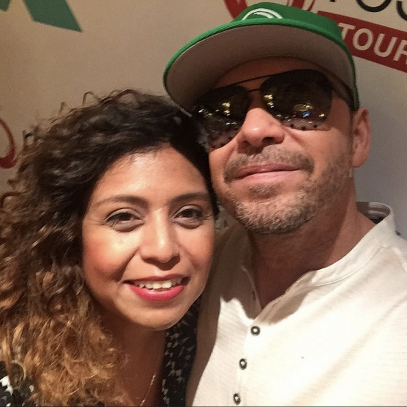 Meeting Donnie on the NKOTB Cruise X
