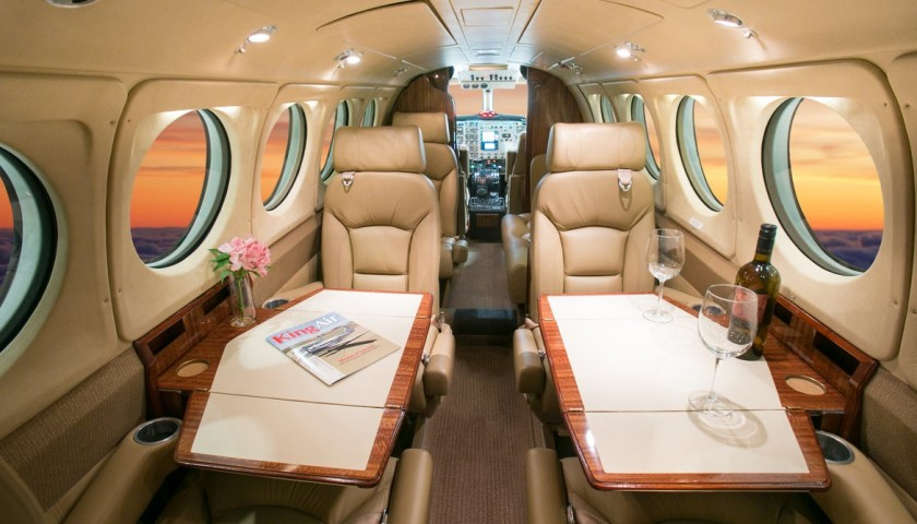 Private Jet to Champagne with Lunch and Pommery Champagne Tour