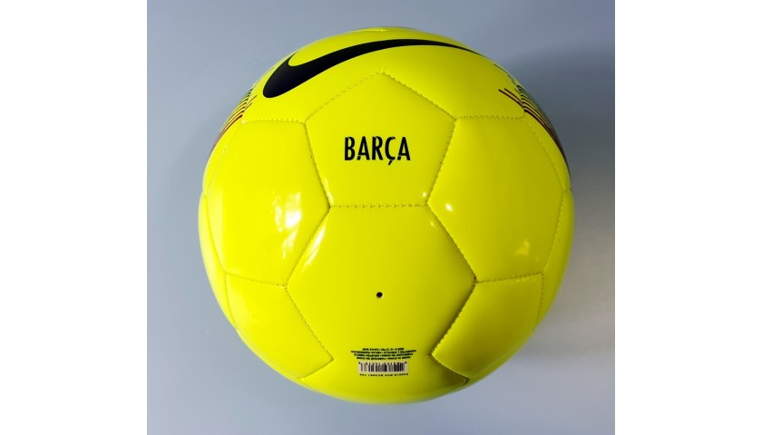 Official Barcelona FC Football - Signed by Leo Messi