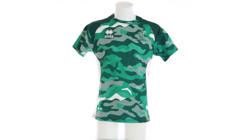 Ian McKinley's Benetton Rugby Worn Training Shirt, 2019/20