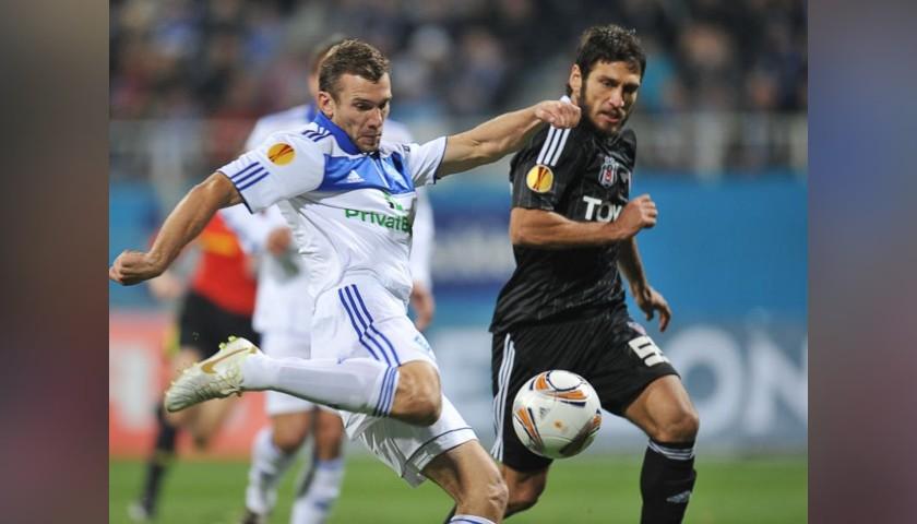 Shevchenko's Dynamo Kiev Signed Match Shirt, 2010/11
