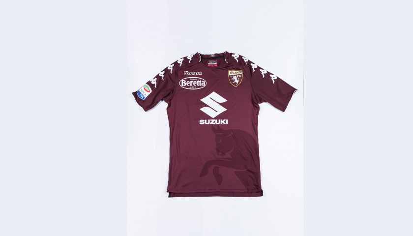 Belotti Issued/Signed 2017/18 Torino Shirt