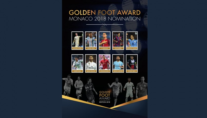 Be Part of The Golden Foot Gala Dinner 2018