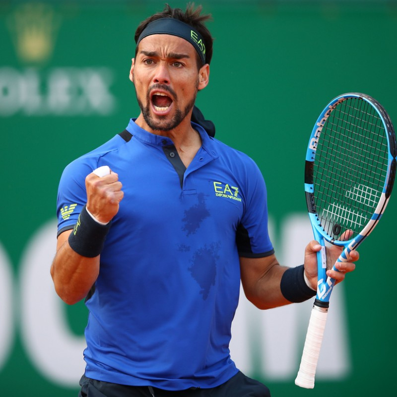 Fabio Fognini's Shirt Worn for Montecarlo Masters 2019 Victory