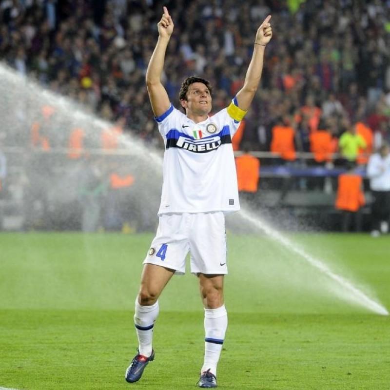 Zanetti's Inter Signed Match Shirt, 2009/10