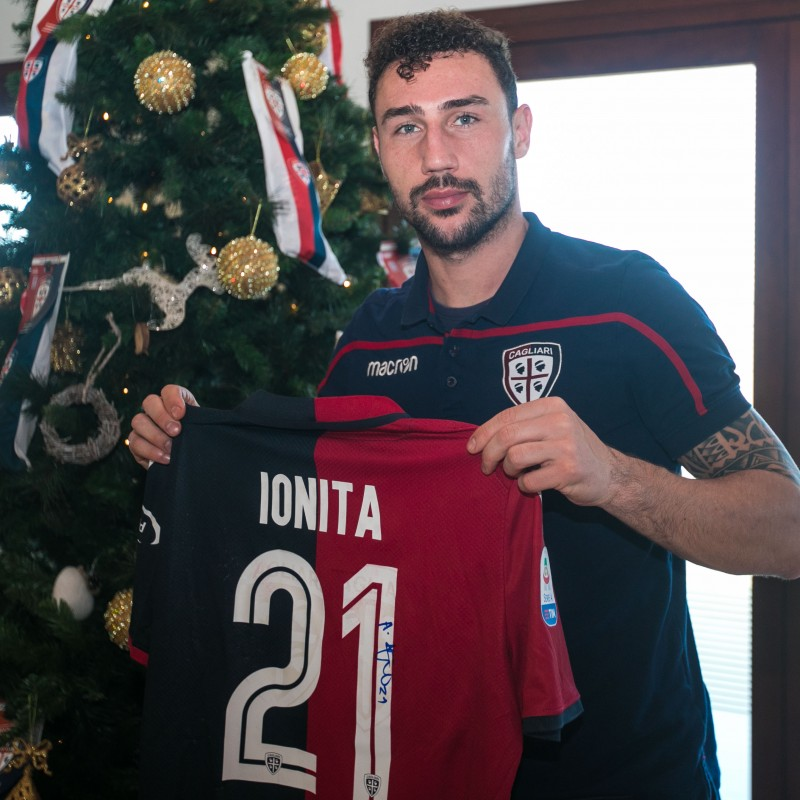 Cagliari Festive Shirt - Worn and Signed by Ionita