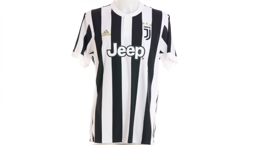 Chiellini's Official Juventus Signed Shirt, 2017/18