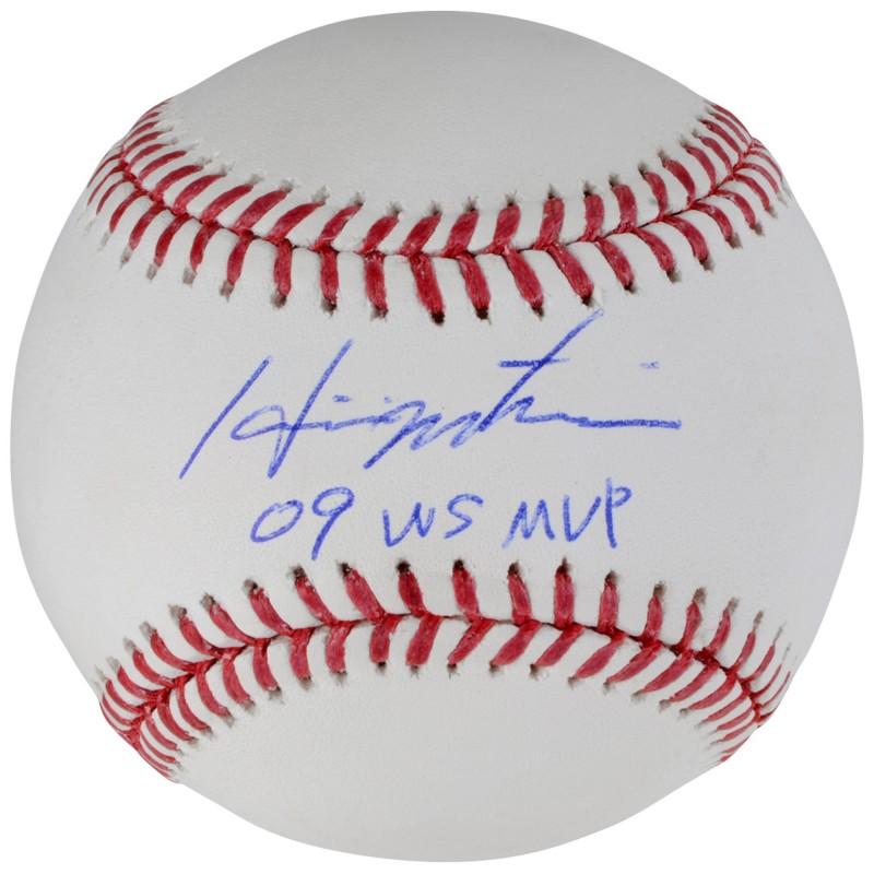 Hideki Matsui Hand Signed Official Major League Baseball