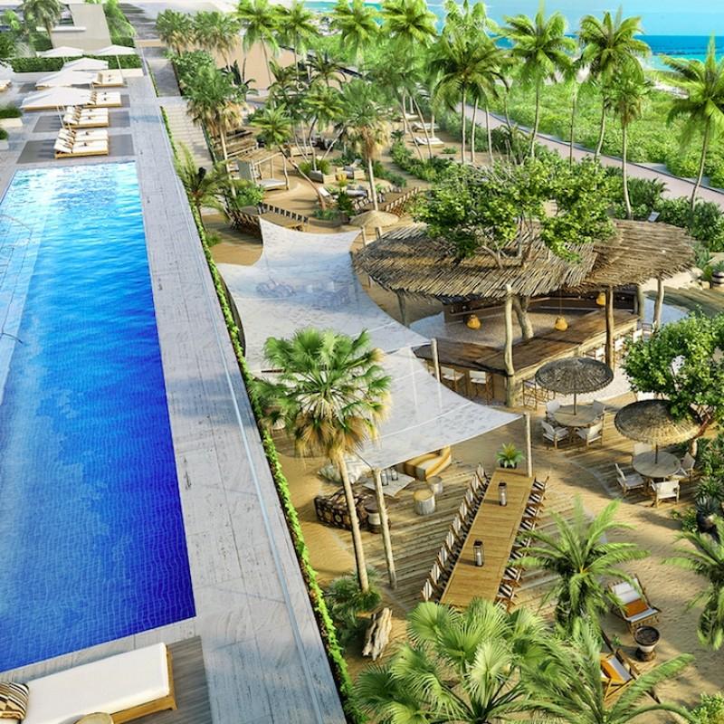 6-Month Beach Club Membership at 1 Hotel South Beach