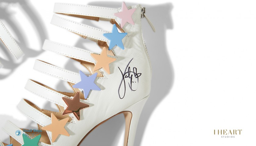 Katy Perry Signed Shoes