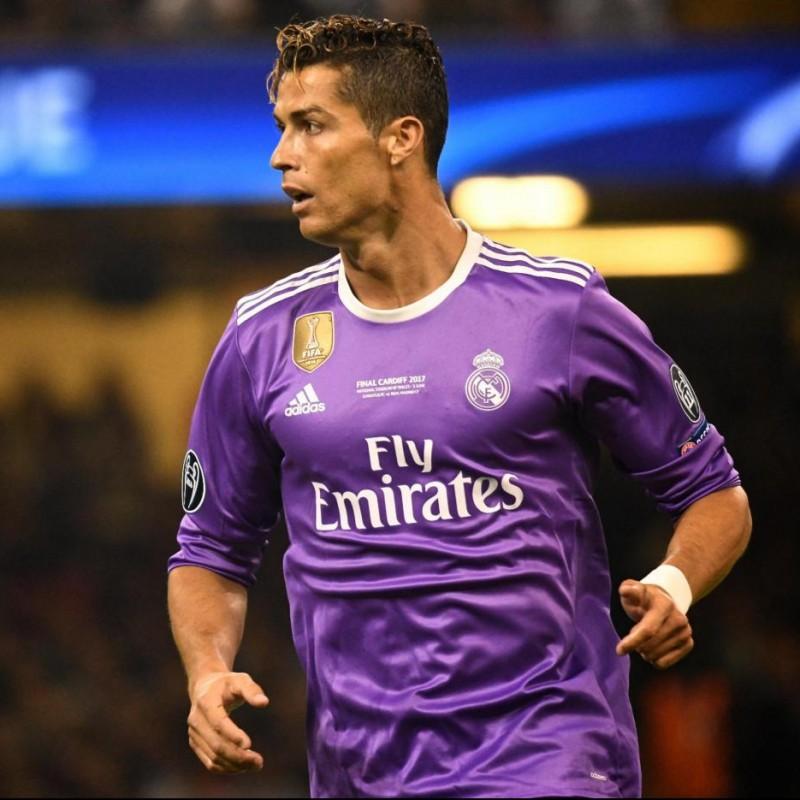 Ronaldo's Match Signed Shirt, Cardiff Final 2017