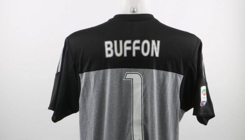 Match worn Buffon shirt, Sampdoria-Juventus swapped with Viviano