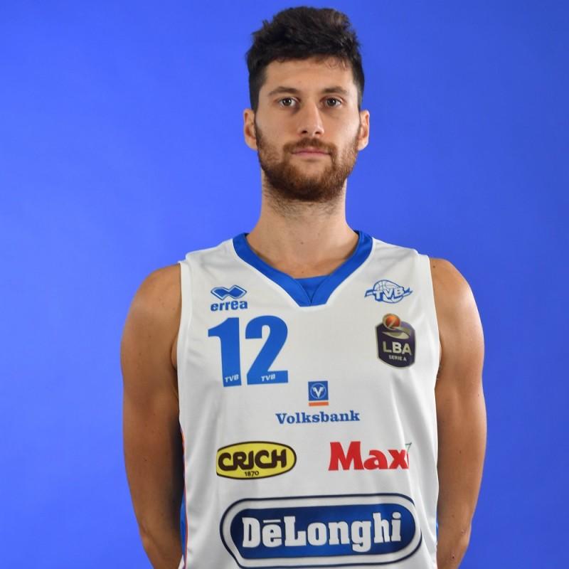 Completo da gara ufficiale De'Longhi Treviso Basket, indossato da Matteo Imbrò nella stagione 2019/20 in Serie A